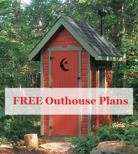 Download Free Outhouse Plans