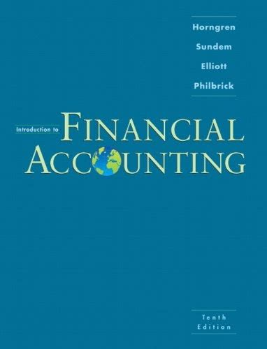 [pdf] Download Introduction To Financial Accounting 10th Edition Pdf.
