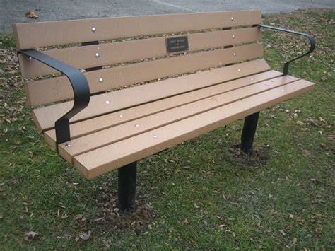 Downloadable Building Plans For A Park Bench Kit