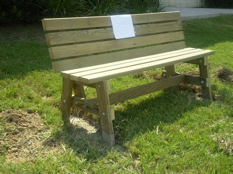 Downloadable Building Plans For A Park Bench Xl