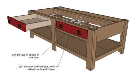 Downloadable Coffee Table Woodworking Plans