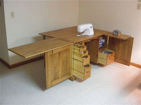 Downloadable Sewing Center Plans
