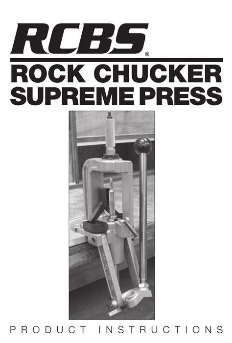 Downloadable Instruction Manuals Rcbs And Hunting Gun Reloading Presses Accessories For Sale Ebay
