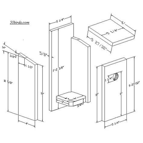 Downy-Woodpecker-Titmouse-Birdhouse-Plans