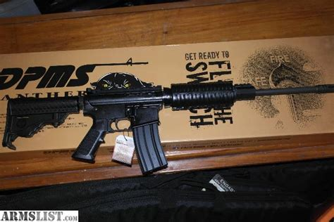 Dpms Panther Sportical And Dpms G2 Recon 308 For Sale