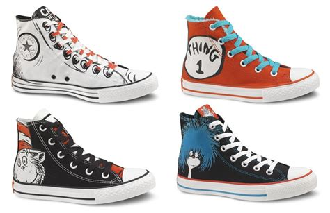 Dr Seuss Converse Sneakers