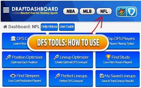 @ Draft Dashboard Reviews- Is This The Best Lineup Optimizer .