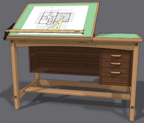 Drafting-Table-Desk-Plans