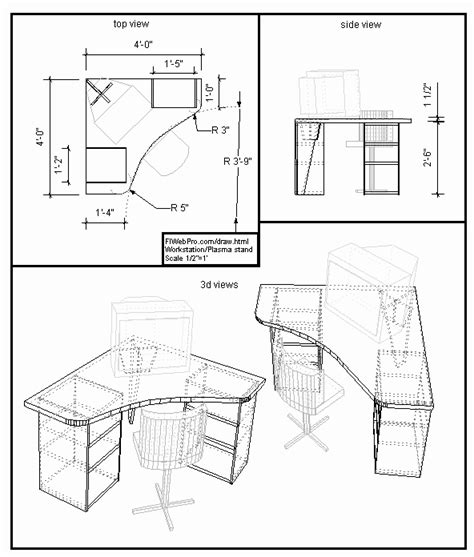 Draw Furniture Plans Online Free