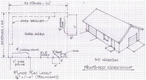 Draw-Your-Own-Garage-Plans-Free