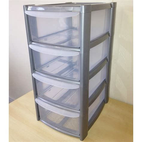 Drawer Plastic Storage Chest