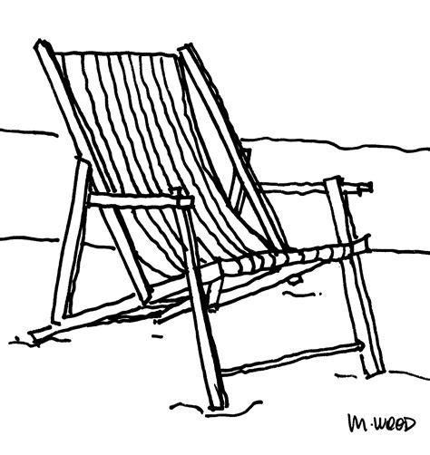 Drawing Beach Chairs