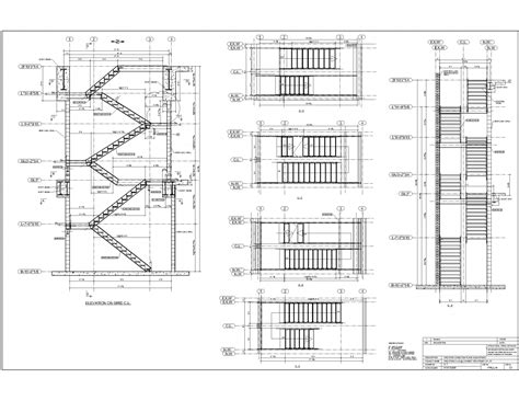 Drawing Stairs In Architecture Plan De Maison