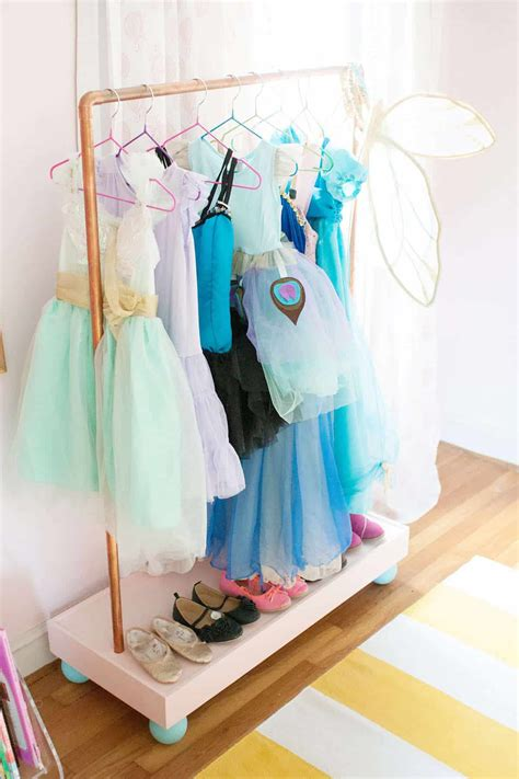 Dress Up Clothes Rack Diy Room