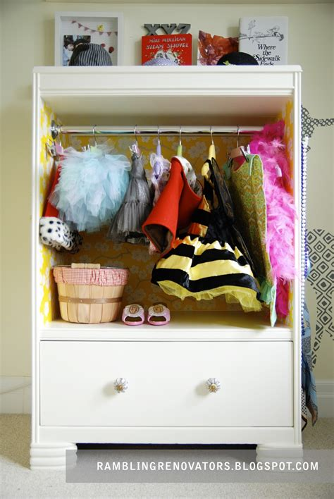 Dress Up Wardrobe Diy Ideas
