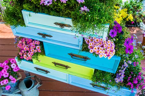Dresser Drawer Planter From Ken Wingard
