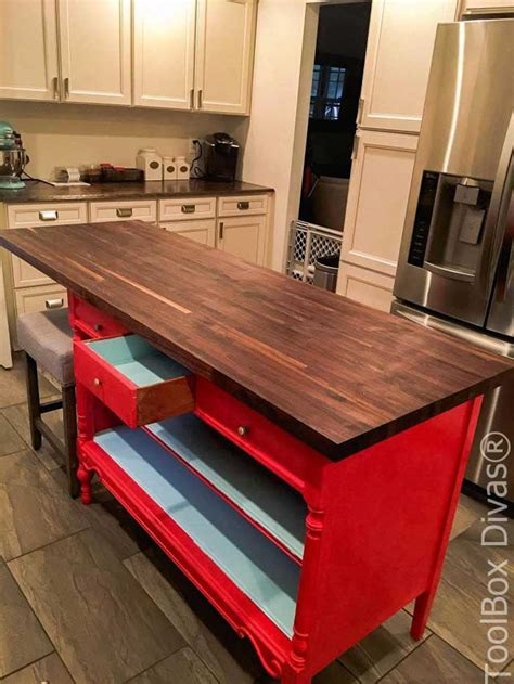 Dresser Kitchen Island Diy Decorating