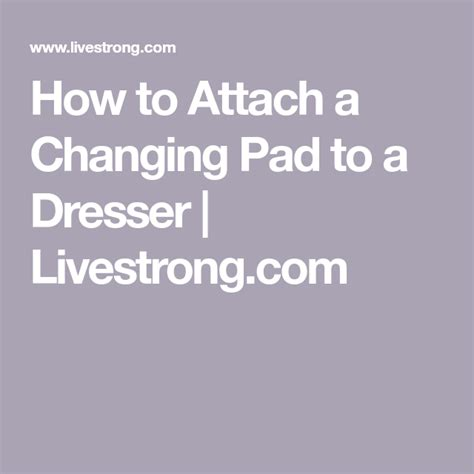 Dresser-For-Baby-Changing-Table-Diy-Livestrong
