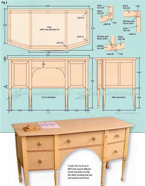 Dressing-Table-Plans-Build
