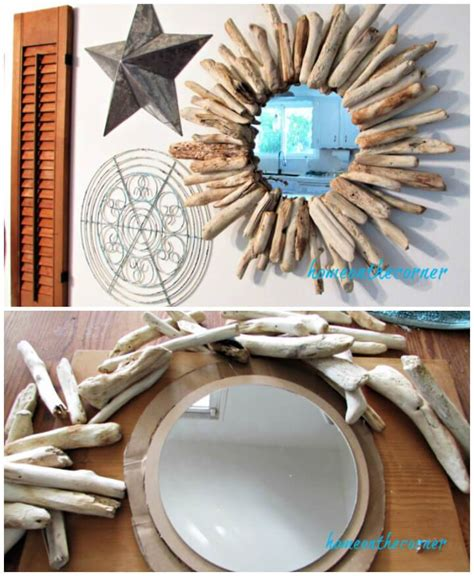 Drift Wood Diy Mirror