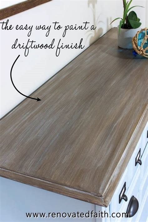 Driftwood Finish Furniture Diy Makeovers