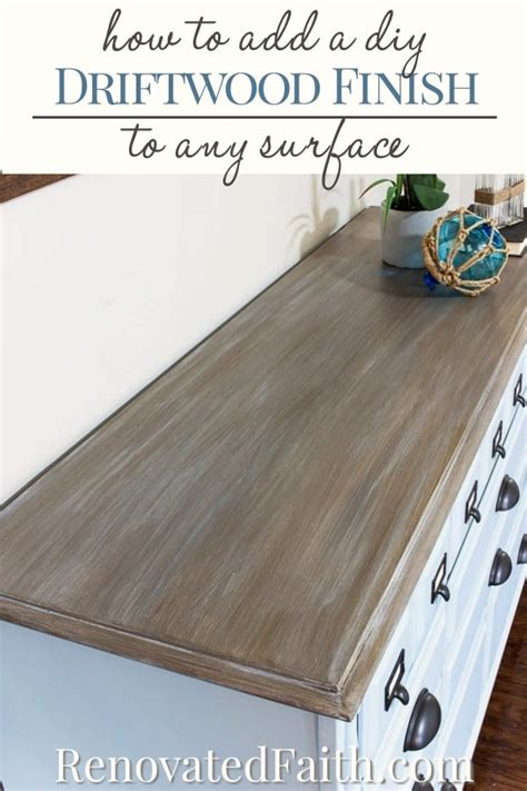 Driftwood Finish Furniture Diy Refinishing
