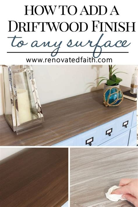 Driftwood Finish Furniture Diy Southwest