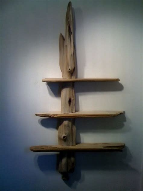 Driftwood Shelves Diy