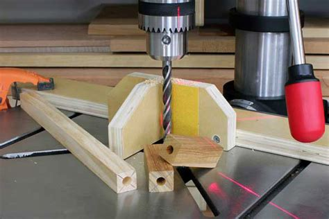 Drill Press Centering Jig Plans