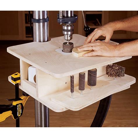 Drill Press Sanding Table Plans