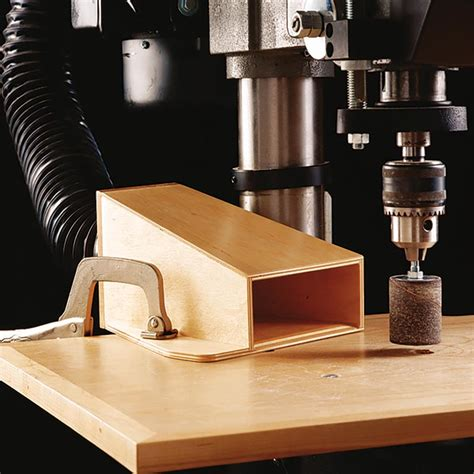 Drill Press Table Dust Collection