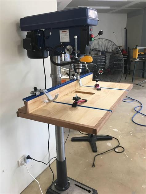 Drill Press Table Lift Diy Projects