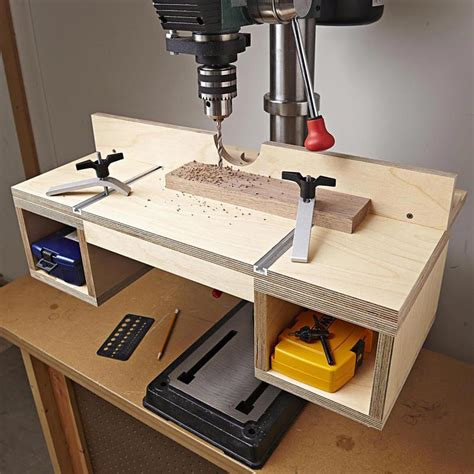 Drill Press Table Plans For 10 Drill Press