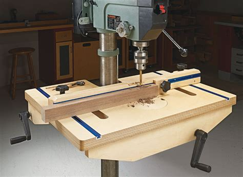 Drill Press Table Plans PDF Woodgears