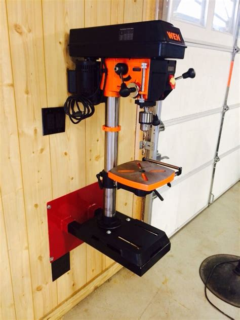 Drill Press Wall Mount Stand Diy Crafts
