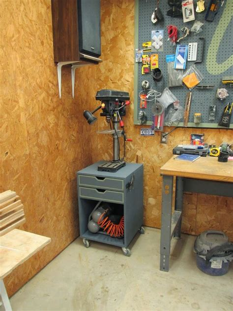 Drill-Press-Stand-Woodworking-Plans