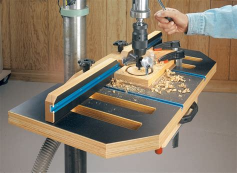 Drill-Press-Table-Woodworking-Plans