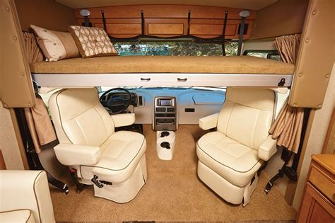 Drop Down Bed In Mercedes B Rv