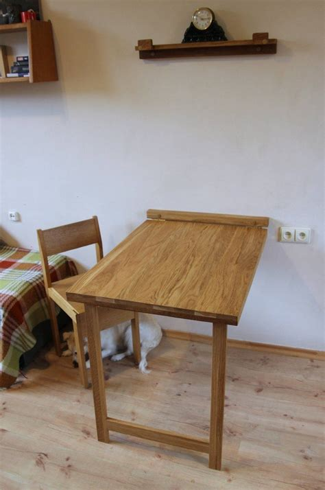 Drop Down Wall Mounted Dining Table