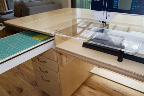Drop In Sewing Machine Table Plans