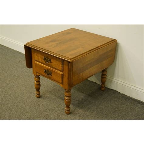 Drop Leaf End Tables By Heirloom Christening