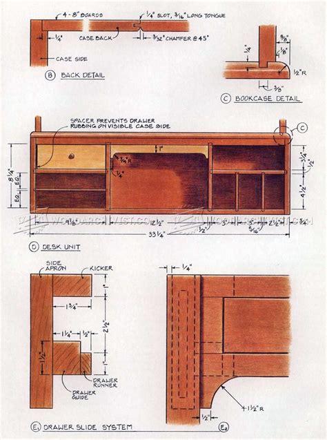 Drop-Front-Desk-Plans