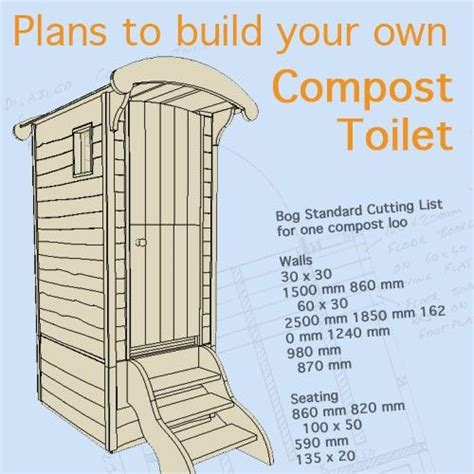 Dry Compost Outhouse Plans