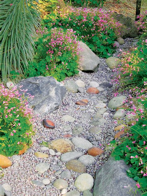 Dry Stream Bed Diy Decor