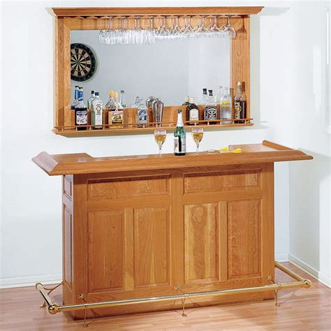 Dry-Bar-Woodworking-Plans
