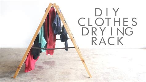 Drying Rack For Clothes Diy Youtube