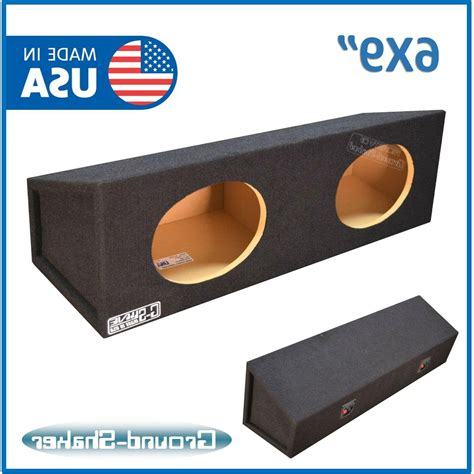 Dual 6x9 Speaker Box Plans