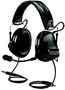 Dual Communication Headset, Blk, 20dB NRR