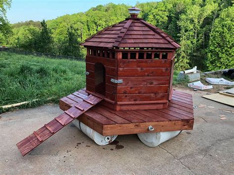 Duck House Plans Float