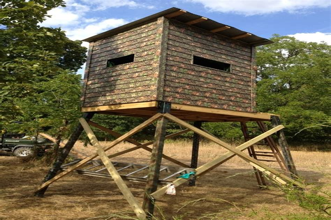 Duck-Blind-Dog-Box-Plans